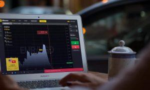 Metode Trading: Penetrasi / Kelanjutan Bollinger Bands — Strategi trading Binomo